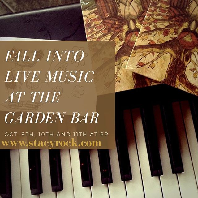 I'll be playing at The Montage Hotel's Garden Bar on Mon, Tues and Wed this fall.  Come have an old fashioned or some exotic hot tea and request of me a playlist! 🥃️️ #thegardenbar #beverlyhills #mommymusician #losangeleslivemusic #pianowoman